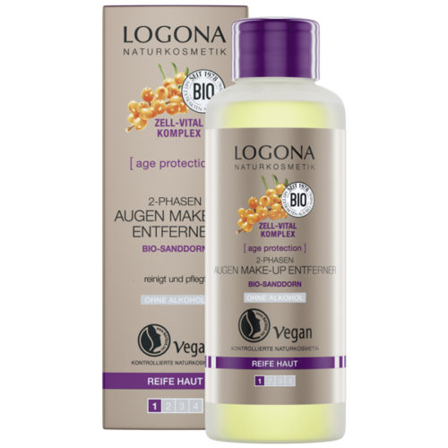 Logona Age Protection oogmake-up remover