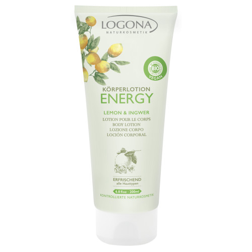 Logona Energy body lotion