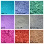 Mica mineraal kleurpigment
