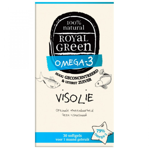 Royal Green Omega-3 Visolie