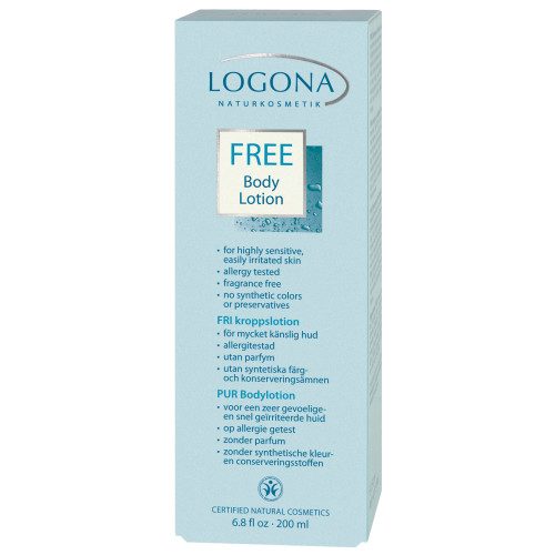 Logona Pur body lotion