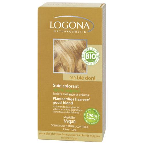 logona haarverf goud blond