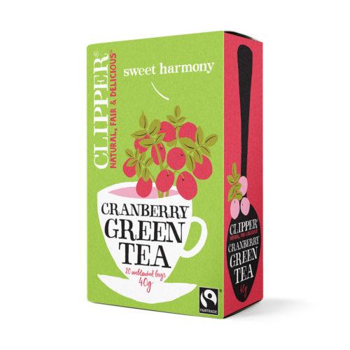 Clipper groene thee veenbessen