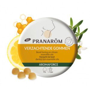 Pranarôm Aromaforce gommen honing en citroen