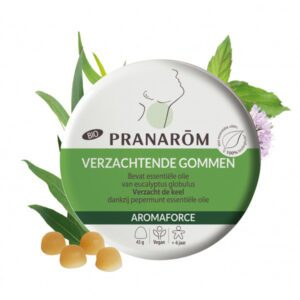 Pranarôm Aromaforce gommen eucalyptus en munt