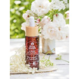 Beauty Garden nacht serum bloesems
