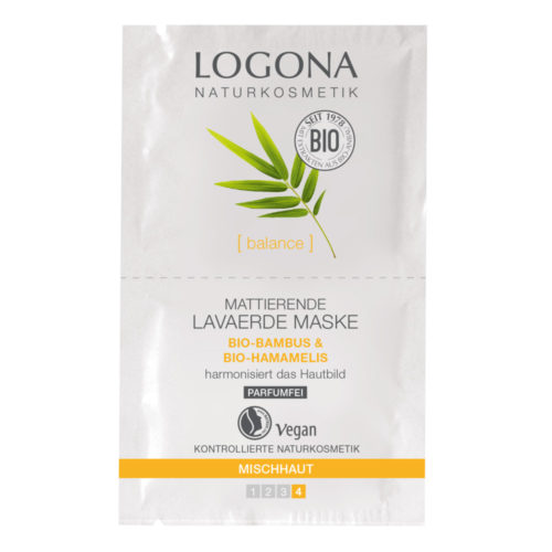 Logona balance lavaerde masker