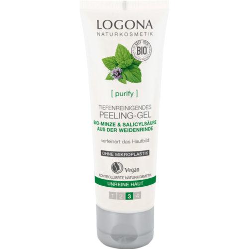 Logona purify peeling gel
