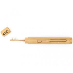 Hydrophil bamboe tandenborstel etui