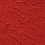 Ijzeroxide rood kleurpigment