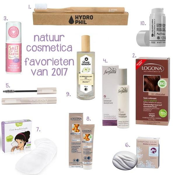 Natuurcosmetica favorieten van 2017