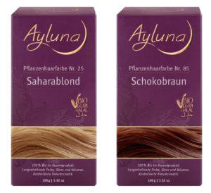 Ayluna plantaardige haarverf