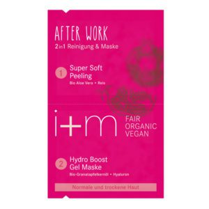 I+M after work 2-in-1 masker