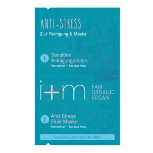 I+M anti stress 2-in-1 masker