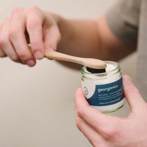 Georganics tandpoeder pepermunt