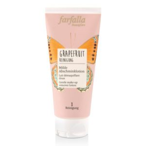 Farfalla Grapefruit make-up remover