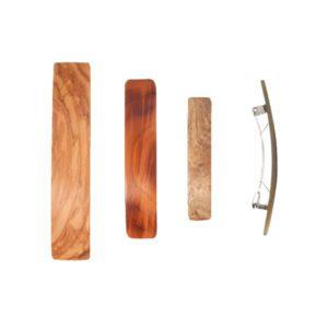 Kost Kamm houten haarspeld