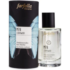 Farfalla Men Cedarwood eau fraîche