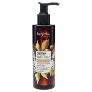farfalla balance shampoo kardemom