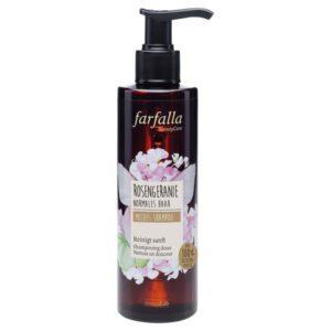 Farfalla sensitive shampoo rozengeranium