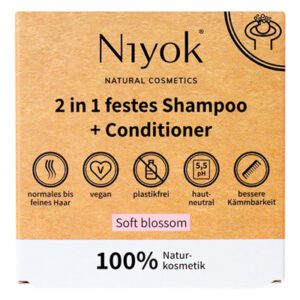 Niyok Soft Blossom shampoo en conditioner 2-in-1