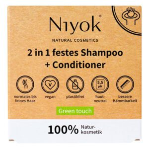 Niyok Green Touch shampoo en conditioner 2-in-1