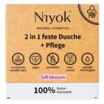 Niyok Soft Blossom douche en lotion 2-in-1