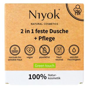 Niyok Green Touch douche en lotion 2-in-1